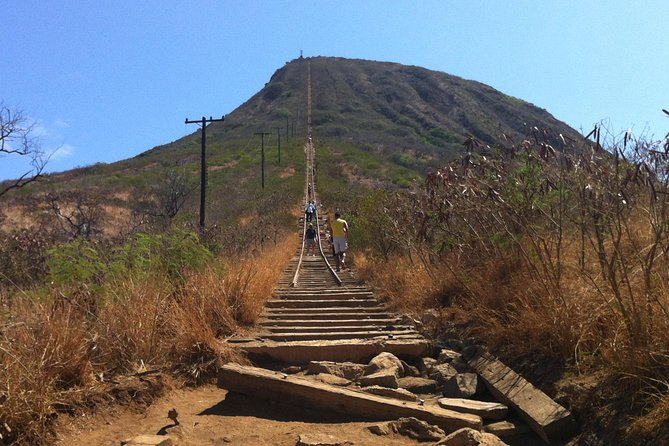 Koko Crater railway hiking trail